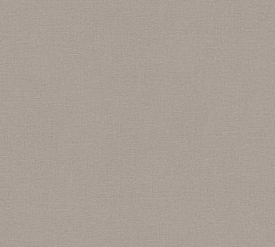 Wallpaper textured plain taupe AS Creation 32474-6