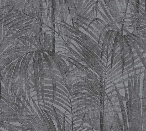Wallpaper palm leaves anthracite AS Creation 33606-1 online kaufen