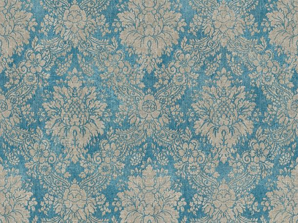 Wallpaper ornaments vintage blue AS Creation 33607-5