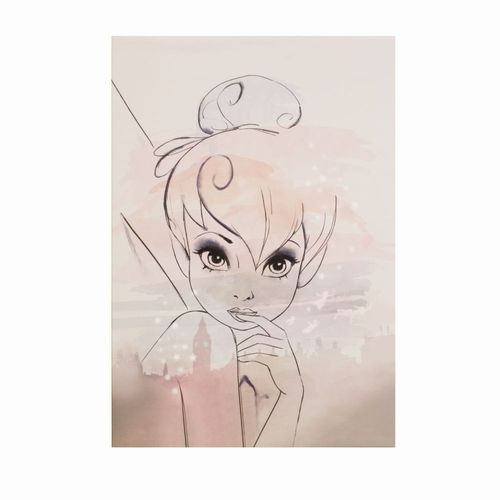 Picture Canvas Disney Tinkerbell Kids 60x90cm