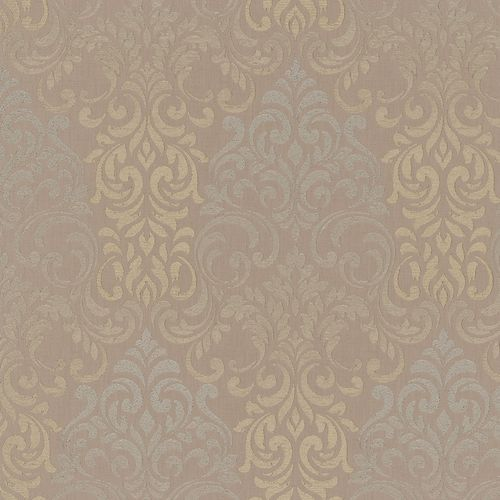 Wallpaper baroque damask brown Marburg Opulence 58208 online kaufen