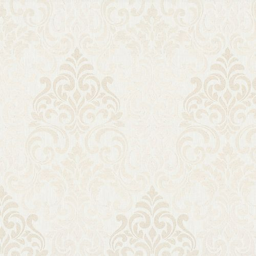 Wallpaper baroque damask cream Marburg Opulence 58210 online kaufen