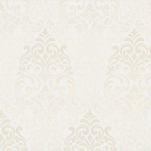 Vliestapete Barock Damask creme Metallic Marburg 58210 online kaufen