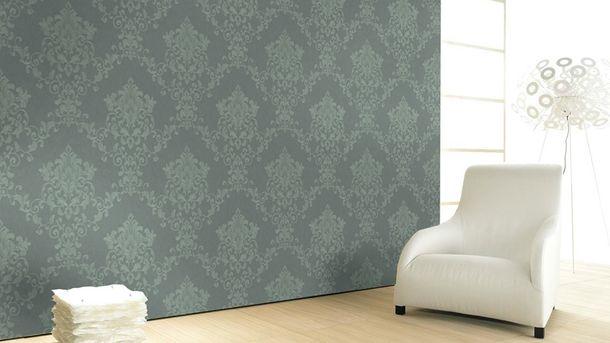 Wallpaper tendril floral green Marburg Opulence 58223 online kaufen