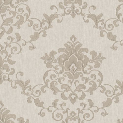 Wallpaper tendril floral grey-beige Marburg Opulence 58224 online kaufen