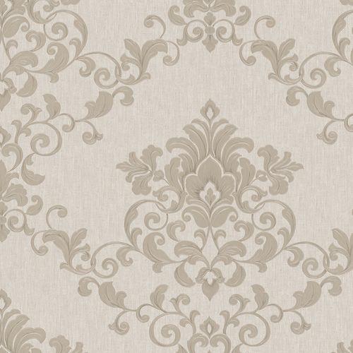 Wallpaper tendril floral grey-beige Marburg Opulence 58224