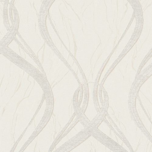Wallpaper wave design cream Marburg Opulence 58229 online kaufen