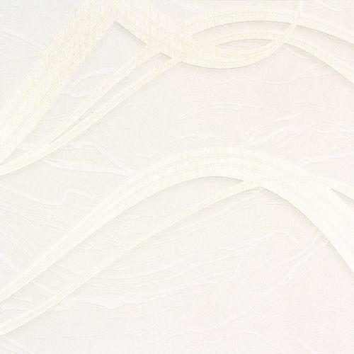 Vliestapete Grafik Wellen cremeweiß Metallic Marburg 58230