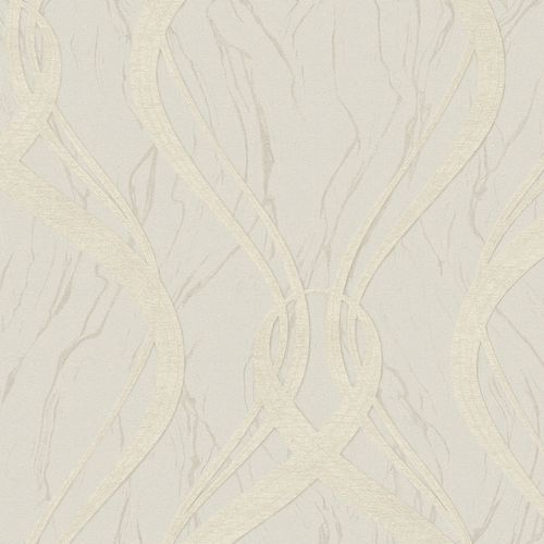 Wallpaper wave design grey-beige Marburg Opulence 58232 online kaufen