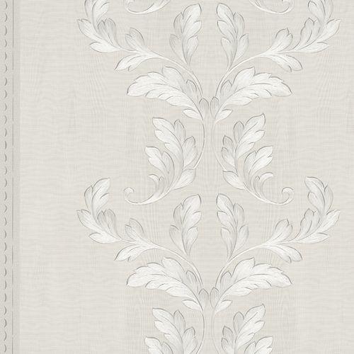 Wallpaper tendril wood cream-grey Marburg Opulence 58251