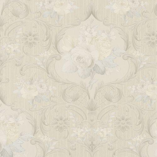 Wallpaper floral flower beige Marburg Opulence 58265