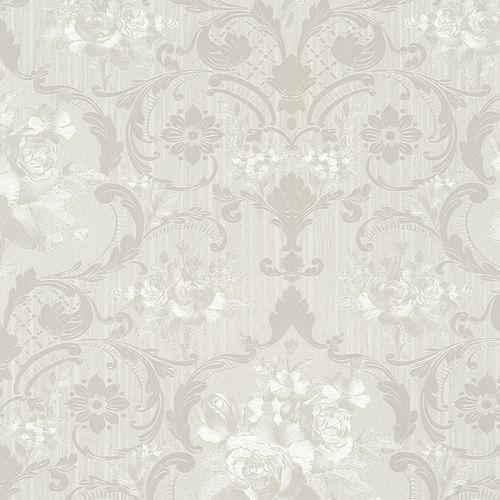 Wallpaper floral flower grey Marburg Opulence 58268