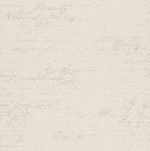 Wallpaper Rasch Florentine writing vintage cream 449549 online kaufen