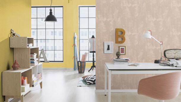 Wallpaper Rasch Florentine textured yellow green 449839 online kaufen