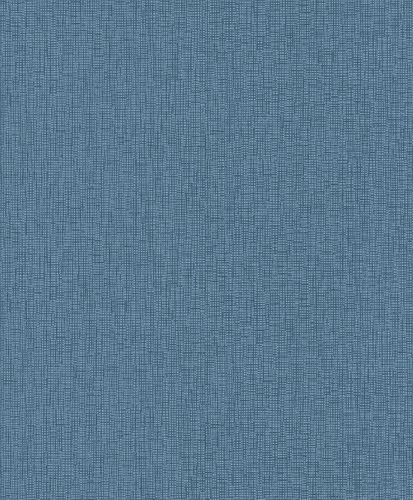 Vliestapete Rasch My Moments Struktur blau Metallic 305777