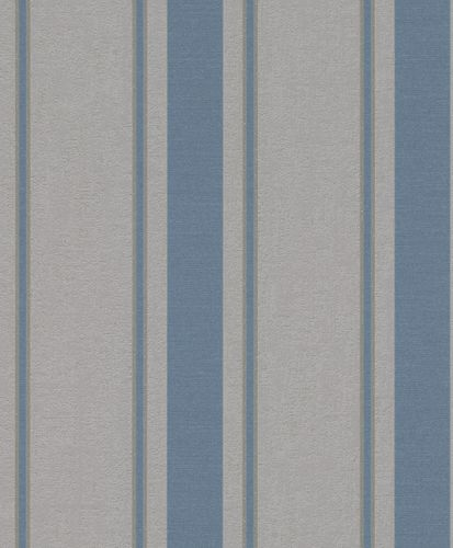 Wallpaper Rasch stripes glitter blue grey 888836 online kaufen