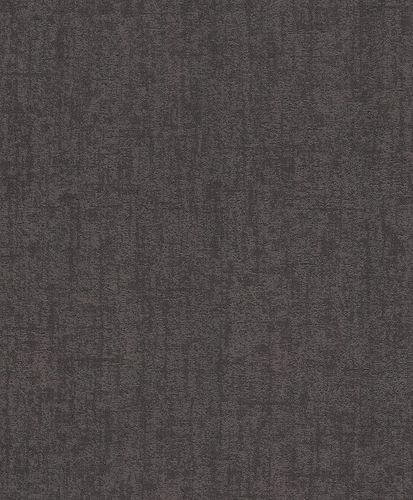 Wallpaper Rasch plaster style vintage black 899009