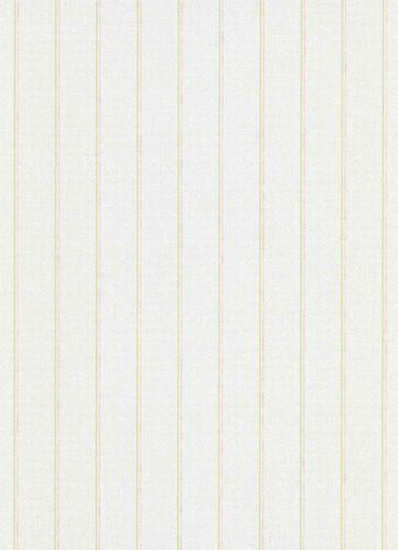 Vliestapete Streifen weiß grün Erismann Vie en rose 5822-05