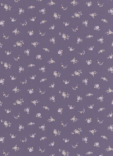 Wallpaper flower flowered floral purple Erismann 5827-45 online kaufen