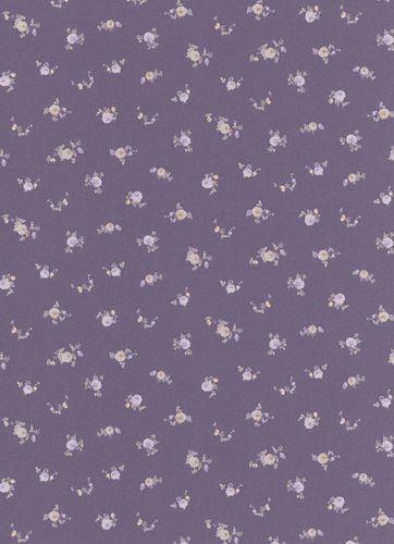 Vliestapete Blumen violett Vie en rose 5827-45