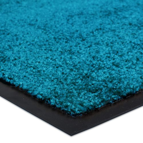 Dirt Barrier Mat Door Mat plain petrol X-Tra Clean online kaufen