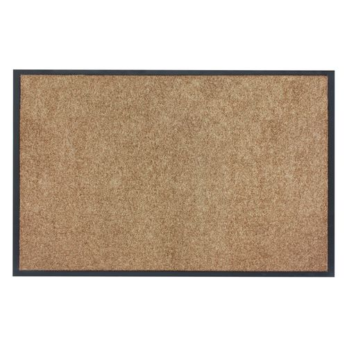 Dirt Barrier Mat Door Mat plain caramel X-Tra Clean