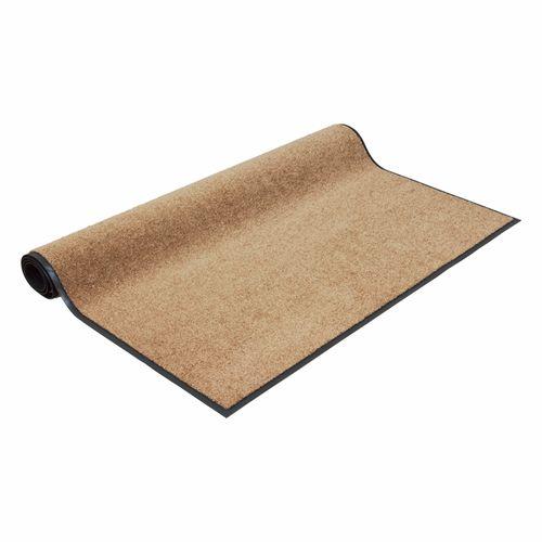Dirt Barrier Mat Door Mat plain caramel X-Tra Clean online kaufen