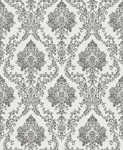 Wallpaper baroque anthracite metallic Erismann 5972-10 online kaufen