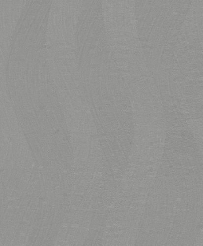 Wallpaper Rasch Deco Style 3D waves grey silver gloss 400540