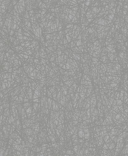 Wallpaper Rasch Deco Style scratch texture grey gloss 400625 online kaufen