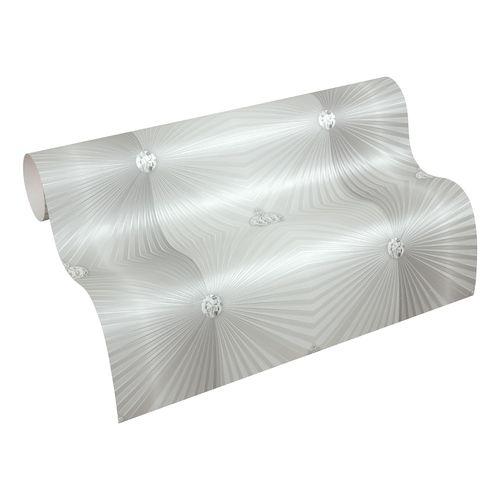 Vliestapete Glööckler Diamanten grau Metallic 54841 online kaufen