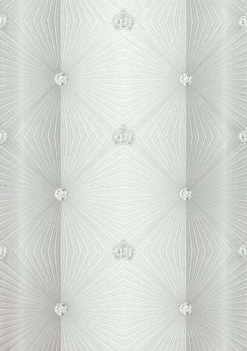 Wallpaper Glööckler diamonds grey Metallic 54841