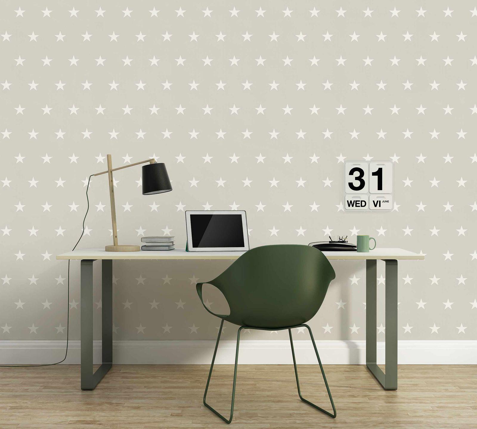 vliestapete sterne sterntapete tapete stern muster. Black Bedroom Furniture Sets. Home Design Ideas