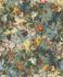 Wallpaper Rasch Passepartout flowers floral blue 605655 001