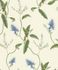 Wallpaper Rasch Passepartout leaves cream blue 605730 001