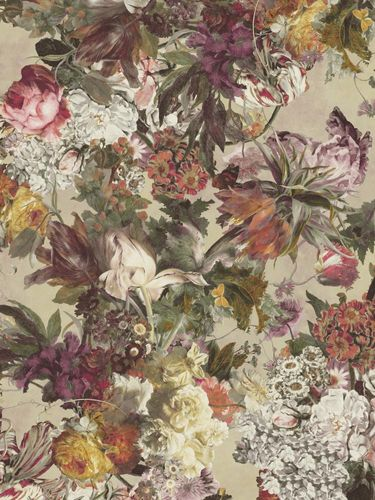 Wallpaper panel Rasch Passepartout flowers floral rose 606850 online kaufen