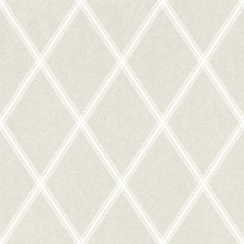 Wallpaper Rasch Emilia diamond silver white Metallic 501308
