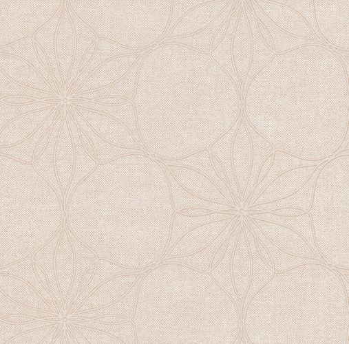 Wallpaper bloom floral cream beige gloss P+S 13523-10 online kaufen