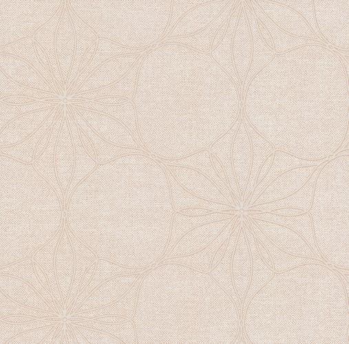 Vliestapete Blüten Floral cremebeige Glanz P+S 13523-10 online kaufen