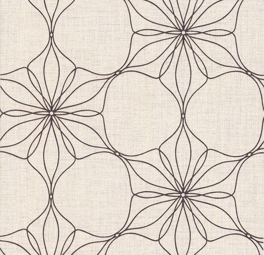Vliestapete Blüten Floral beigecreme Glanz P+S 13523-50 online kaufen