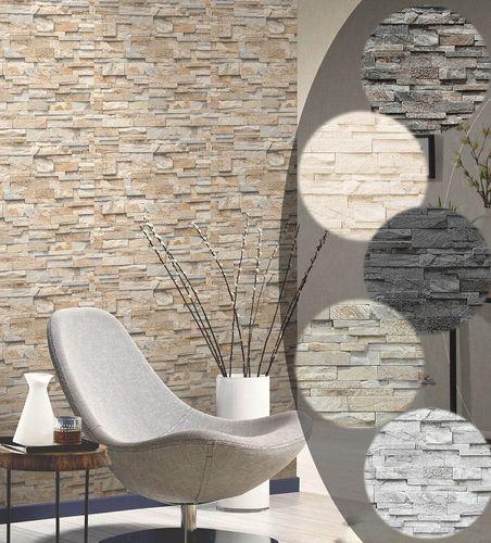Steintapete 3D Vliestapete Stein Optik P+S Einfach Schöner Online Kaufen