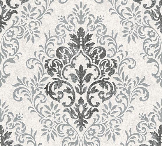 Wallpaper Jette Joop baroque anthracite grey gloss 33924-1