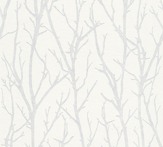 Non-Woven Wallpaper Paintable Branch AS Creation 3210-15 online kaufen