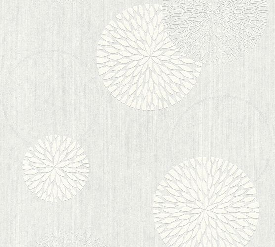 Non-Woven Wallpaper Paintable Circle AS Creation 32130-1