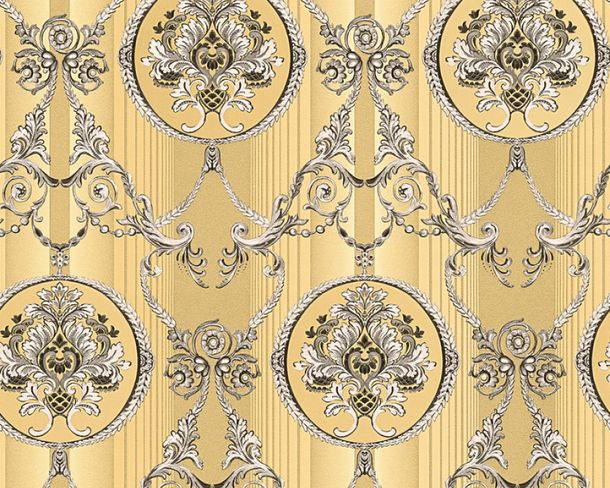 Wallpaper Hermitage ornaments gold Metallic 33083-1 online kaufen
