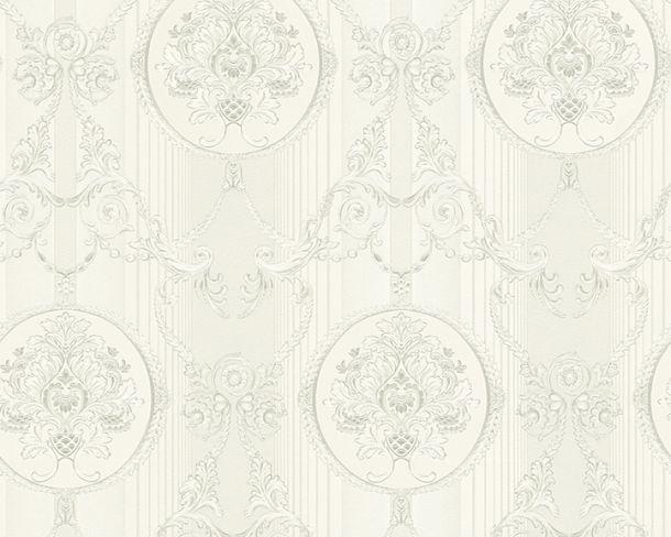 Vliestapete Hermitage Ornament silber Metallic 33083-3 online kaufen
