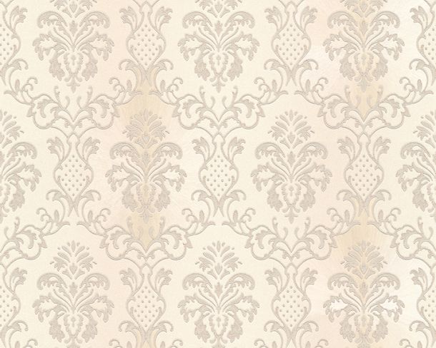 Wallpaper Hermitage baroque ornaments beige cream Metallic 33545-3