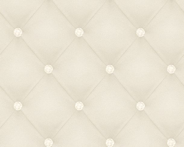Wallpaper Hermitage Chesterfield 3D silver white Metallic 34144-4 online kaufen