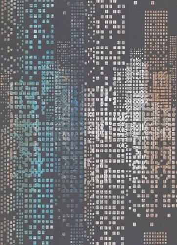 Vliestapete Skyline 3D blau Glanz Erismann 6450-15 online kaufen