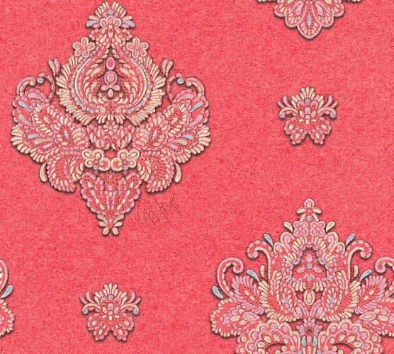 Wallpaper Wolfgang Joop baroque rose Metallic 33928-4